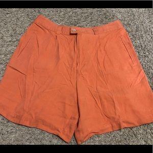 Tommy Bahama Womens Silk Shorts Size 8